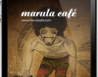 Marula Cafe, Aplicacion Iphone