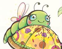 2012 Calendar / A Caterpillar's Garden