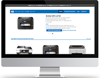 Web Design: Printers for Rent