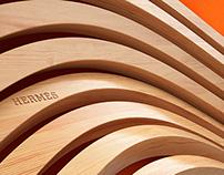 Hermès wooden frame