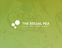 The Social Pea | Logo