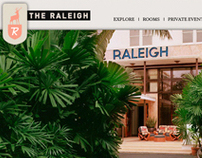 The Raleigh Hotel Website