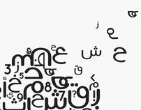 Arabic Typeface (AH JAD)