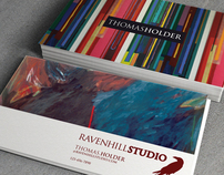 Thomas Holder / Ravenhill Studio Identity