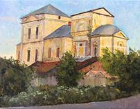 Landscapes from Torzhok, july 2017