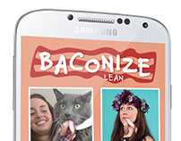 Baconize iOS and Android App