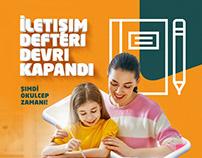 Okulcep Posts | Agency Maya Interactive/Turkey