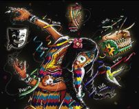 Carnaval negros y blancos 2018 (propuesta)