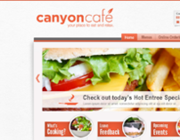 Canyon Cafe Website