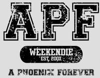 A Phoenix Forever - Get Weekendie T-Shirt