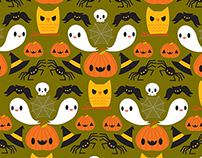 Halloween Prints Fabric & Surface Design