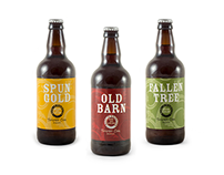 Twisted Oak Brewery, branding and packaging design