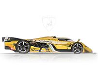 Lamborghini Le Mans LMP1 | Concept Prototype
