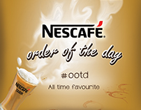 Nescafe Order Of The Day Campaign #OOTD