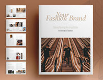 Fashion Brochure Layout