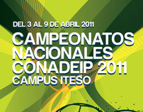Campeonatos Nacionales Conadeip 2011