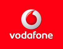 Vodafone in store Advertisement - Venue Media