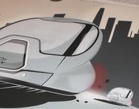 EN-V Car prototypes