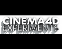 Cinema4D experiments