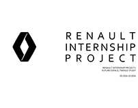 Renault exterior intern project