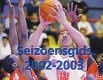 FEB Eredivisie Seizoengids 2002-2003