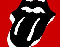 Rolling Stones - Stockholm, Sweden Event Poster