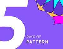 5 days of pattern
