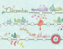 December Calendar Wallpaper_ Jingle All The Way