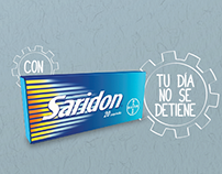 SARIDON, TU DÍA NO SE DETIENE.