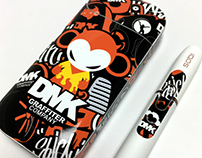 IQOS X Graffiti artist devil monkey 'DMK' skin