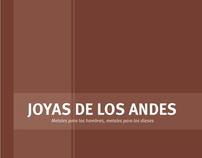 """Catálogo """"Joyas de los Andes"""""""