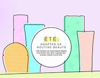 Guide Passion Beauté - Routine Beauté Été