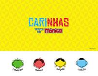 Style Guide Carinhas Turma da Mônica (Little Faces)