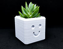 Happy Planter / 3D printed planter