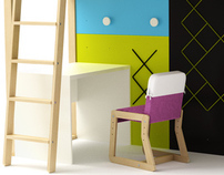 BUNK BED set - project 2011