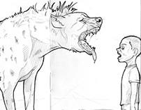 Niños animal