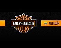 HARLEY DAVIDSON web design proposal
