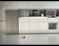 [3D] V Kitchen