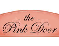 The Pink Door - Identity and Collateral