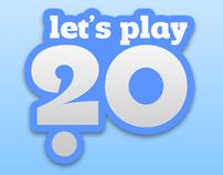 Let's Play 20 Logo / Frontpage Web Design