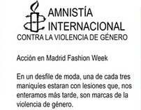 Amnesty International fashion