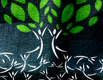 Grass Roots to Tree Roots Tote and Logo Design