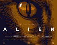 ALIEN 35TH ANNIVERSARY For Poster Posse