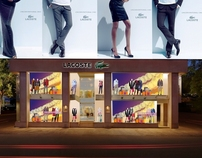 Diwali Window Display - Lacoste AW 11