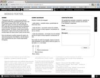 Obrigatório não ver / Web site / 2011