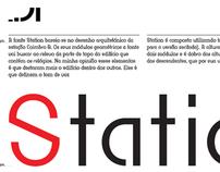Station / Modular typeface / 2011