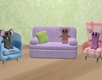 Stuffed Animal Living Room
