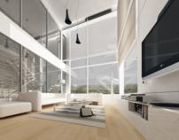 Interior Design of a private villa.