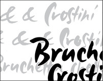 logotypes: crunchy, rustic