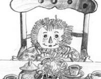 Lessons at Blackberry Inn Illustrations